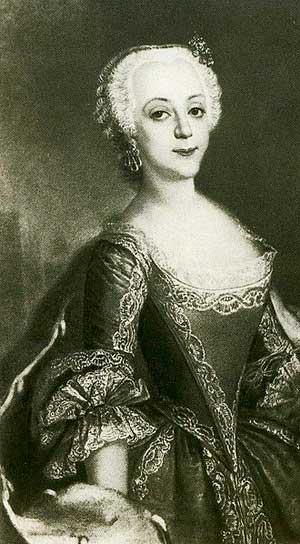 Портрет принцессы Анхальт-Цербстской, будущей Екатерины II