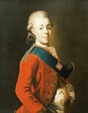 Павел I Петрович, сын Екатерины (1777)